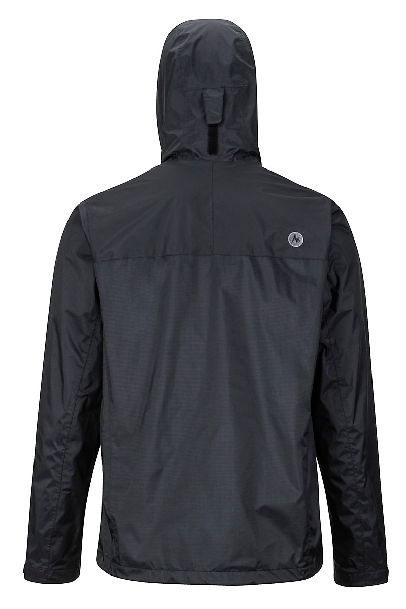 marmot mens eco precip black back