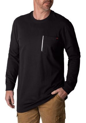 Walls Grit2 Heavyweight Long Sleeve T-shirt YL879