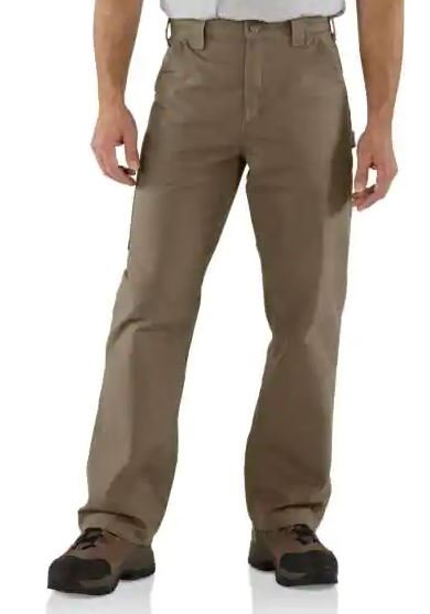 Carhartt B151 Pant-LIGHT BROWN 34X32