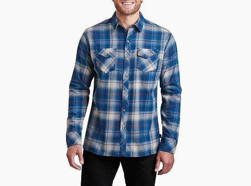 Kuhl Men's Lowdown Flannel Long Sleeve Shirt