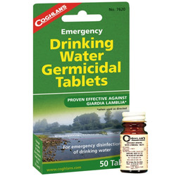 Coghlans water tablets 7620