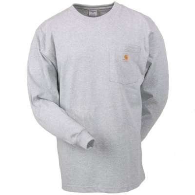 Carhartt Long-Sleeved Pocket T-Shirt K126