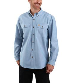 104368 LS shirt blue