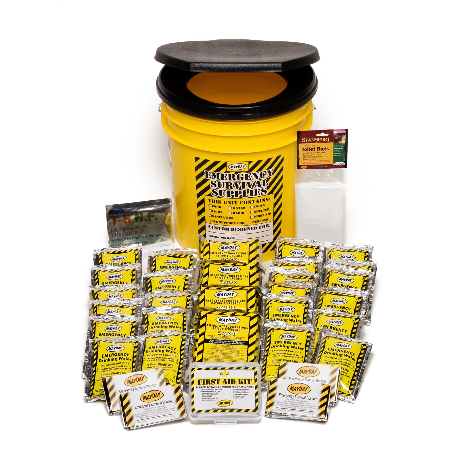 survival bucket 4 person Basic
