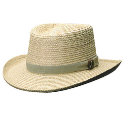raffia gamblers hat