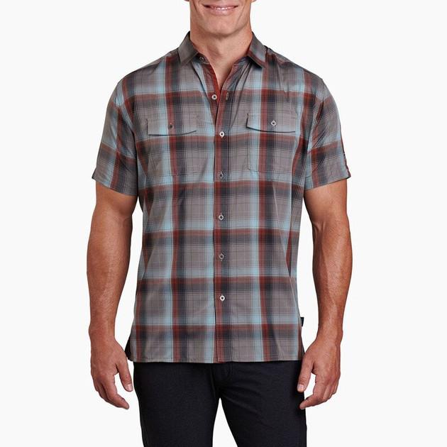 Kuhl Men's Response Shirt, Vintage Teal