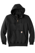 Paxton Hooded Zip Mock Sweatshirt