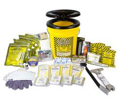 Deluxe survival kit bucket (4 person kit