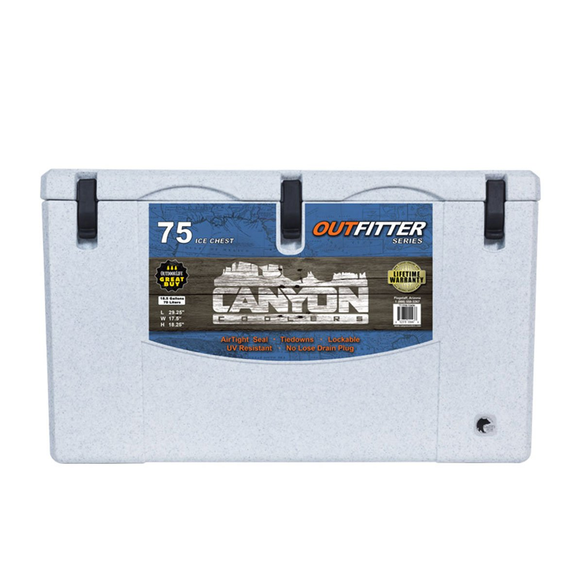 Canyon Outfitter 75 white
