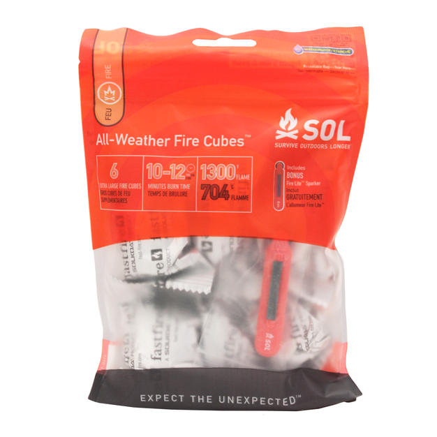 Stay warm with an Emergency Fire Starter