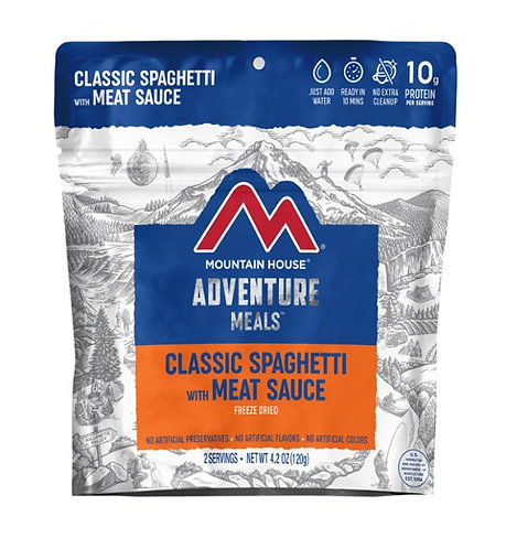 Mountain House - Classic Spaghetti with Meat Sauce