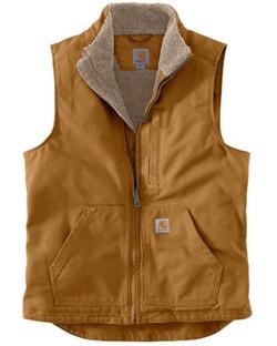Carhartt vest brn 104277