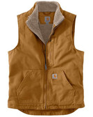 Washed Duck Sherpa Lined