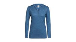 Icebreaker sphere hoodie prussian blue