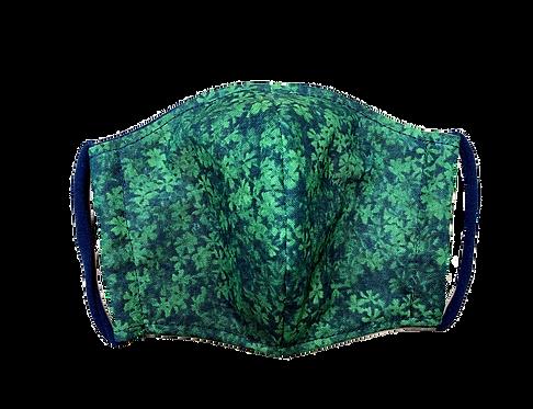 Handmade adult masks - Green meadow