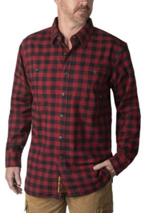 Walls Longhorn Flannel Shirt, YL860