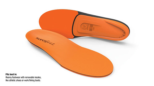 Superfeet Insole, Orange
