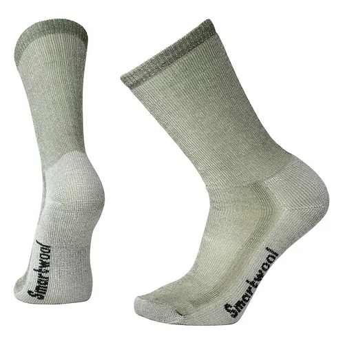 Smartwool Unisex Medium Hiking Crew Socks, Sage