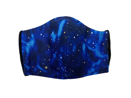 Handmade adult mask - starry night