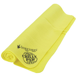 cooling towel yellow 2