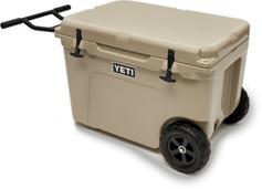 Yeti Tundra Haul Wheeled Cooler - Tan