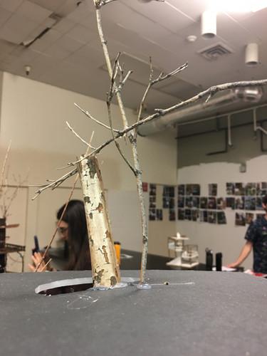 Treehouse model roof