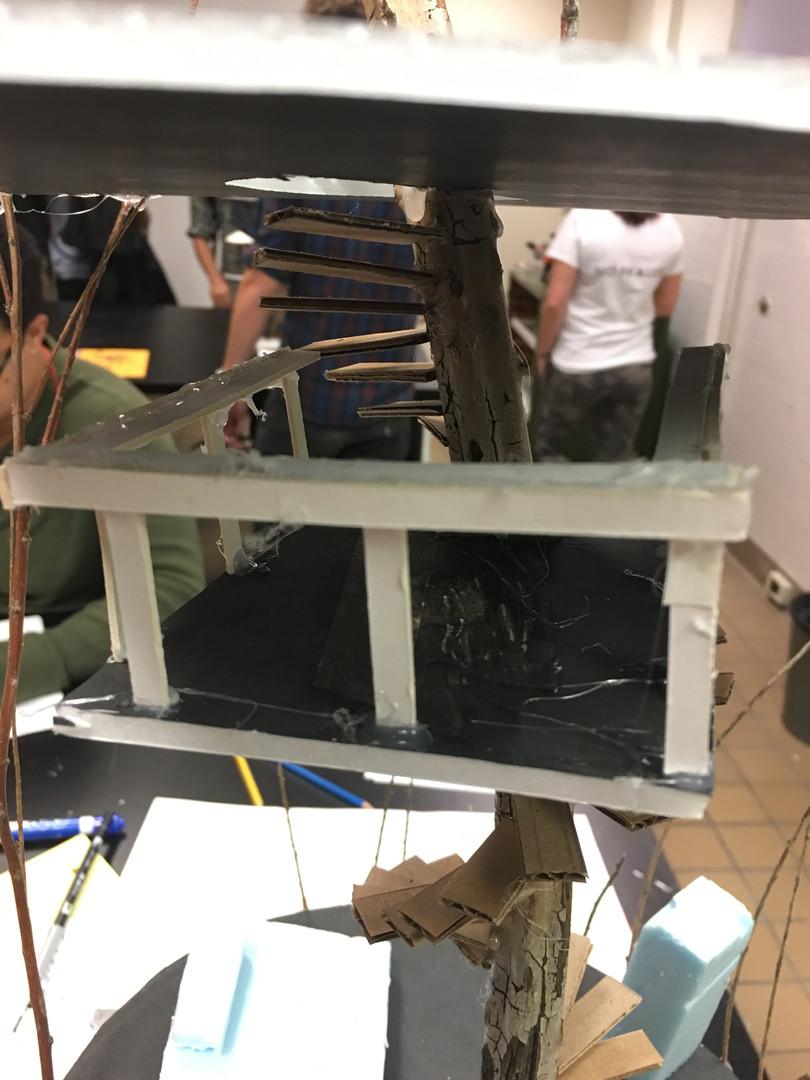 Treehouse model perch