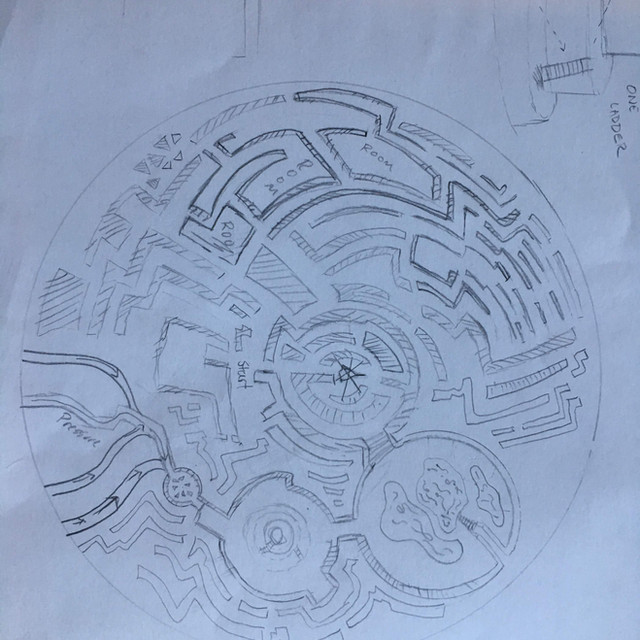 """Asterion"" level layout #1"