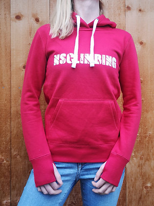 NSCLIMBING - Hoodie Red/White - Woman