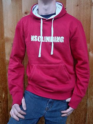NSCLIMBING - Hoodie Red/White - Man