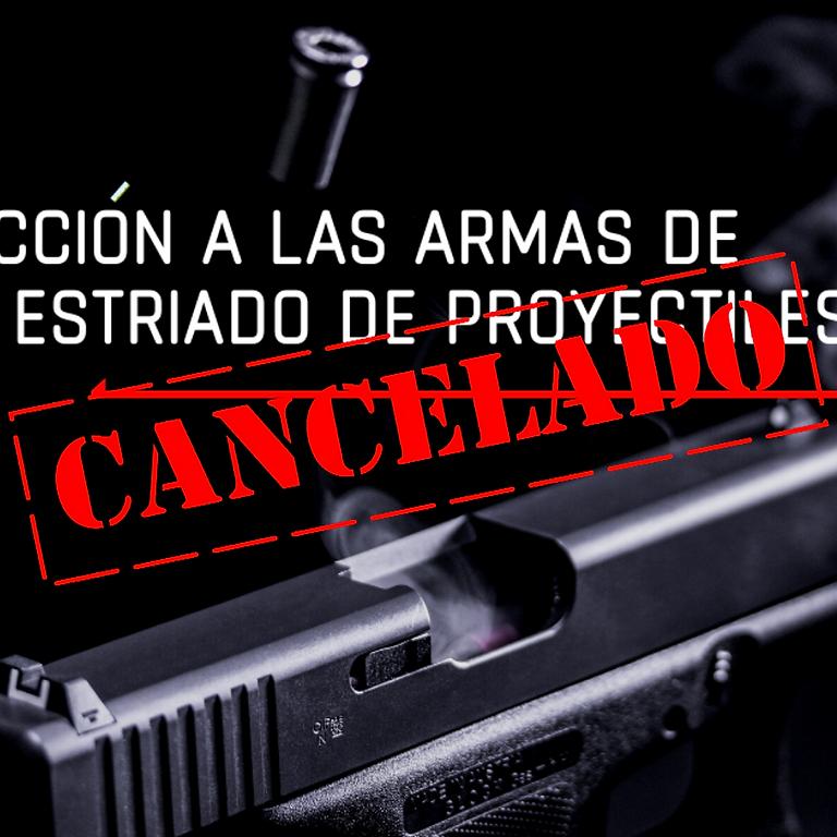 CANCELADO: Introducción a las armas de fuego y estriado de proyectiles.