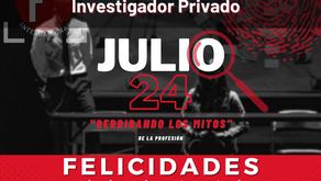 DÍA NACIONAL E INTERNACIONAL DEL INVESTIGADOR PRIVADO PROFESIONAL: DERRIBANDO LOS MITOS