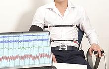 A man passes a lie detector test.jpg