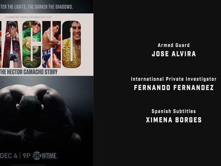 Fernando Fernandez contributes to Macho: The Hector Camacho Story documentary