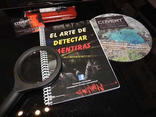 "Libreta Oficial ""El Arte de Detectar Mentiras"""