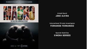 Fernando Fernández contribuye al documental Macho: The Hector Camacho Story