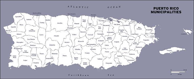 Puerto Rico Municipalities - Service of
