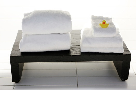 Fresh clean towels