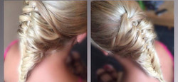 blonde braid