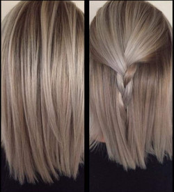 Dark blonde multi tonal colour