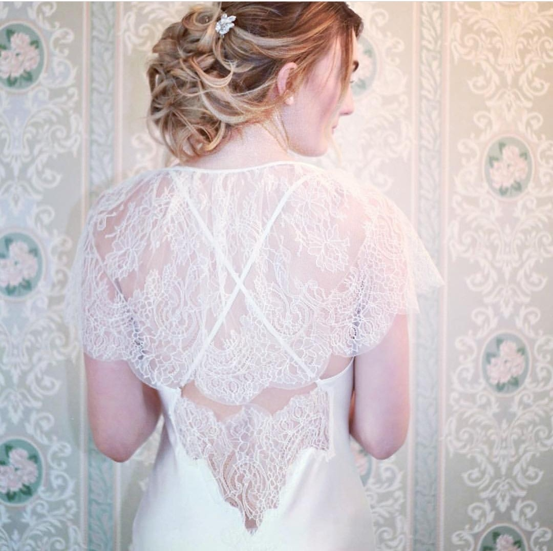 Bridal hair. Romantic, vintage.