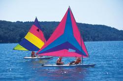 Sailing Camp, Bangor Y Camp Jordan