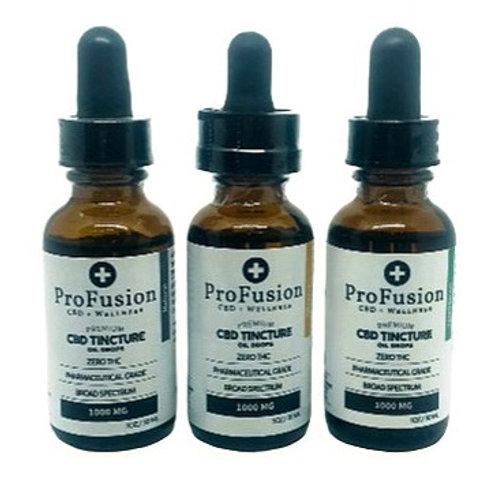 CBD Tincture Oil - 1000 mg