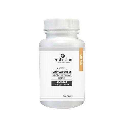 CBD Total Body Capsules - 3000 mg