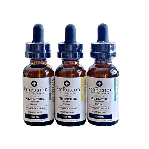 CBD Tincture Oil - 2000 mg