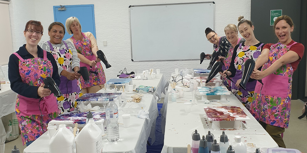 Paint & Create with Bubbly - Afternoon