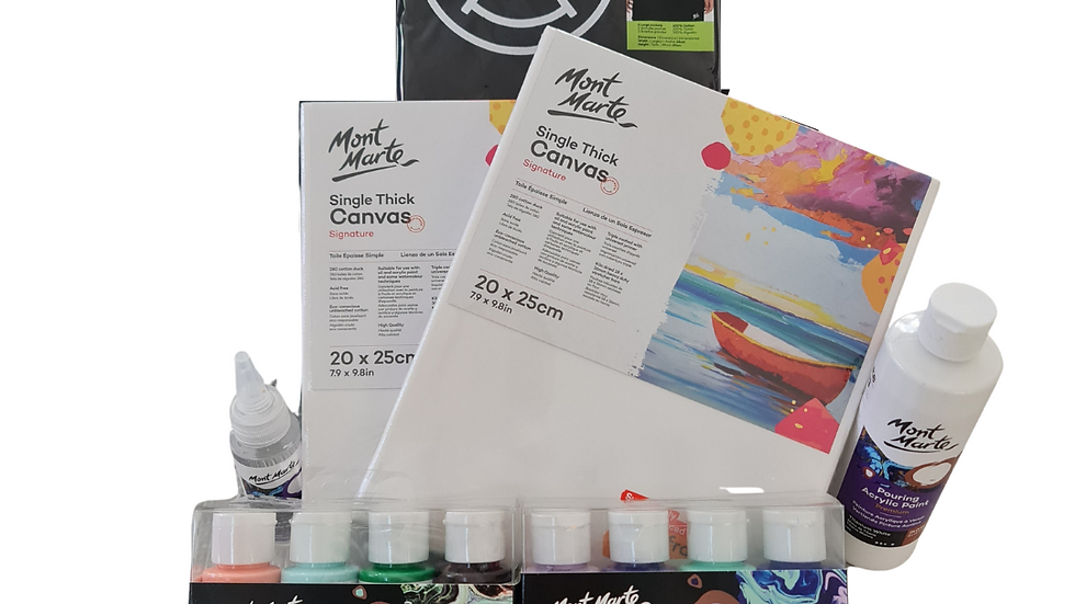 Creative Kids Paint Pouring kit