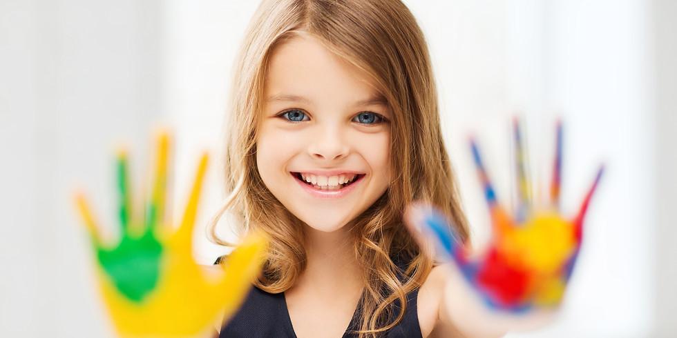 Kids Paint & Create - Abstract Art Class