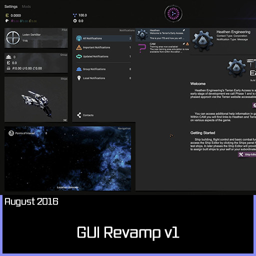 GUI Revamp August 2016
