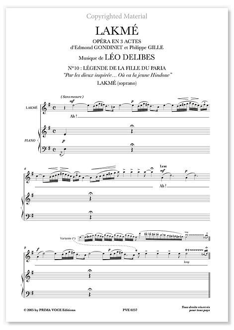 "Delibes • LAKMÉ • ""Où va la jeune Hindoue"" (soprano)"